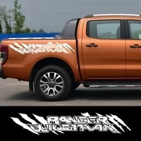 car side stickers automobile trunk decoration decals for ford ranger auto sports styling vinyl trim films car accessories