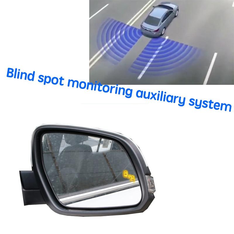 سيارة BSD BSM BSA منطقة عمياء نظام الكشف عن بقعة تحذير مرآة الخلفية الرادار لشركة هيونداي توكسون ix35 TL 2015 ~ 2020