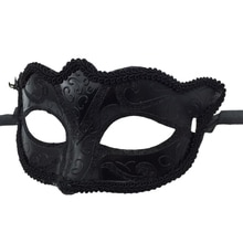 Masquerade Tiara Halloween Sexy Eye Mask Women Men Fancy Dress