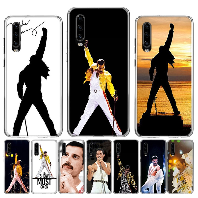 Мягкий силиконовый чехол Freddie Mercury Queen band для Huawei P40 P30 P20 P10 lite Mate 10 20 30 Pro + Fundas Coque Etui