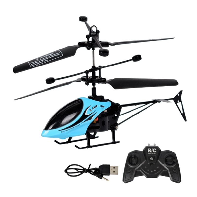Kids Toys Helicopter Remote Control Aircraft Anti-Fall Rc Helicopter Charging Toy Drone Model UAV Outdoor Fly Mini Drone For Kid