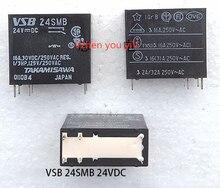 Original pour TAKAMISAWA VSB24SMB VSB-24SMB 24VDC 6 broches 16A relais de puissance