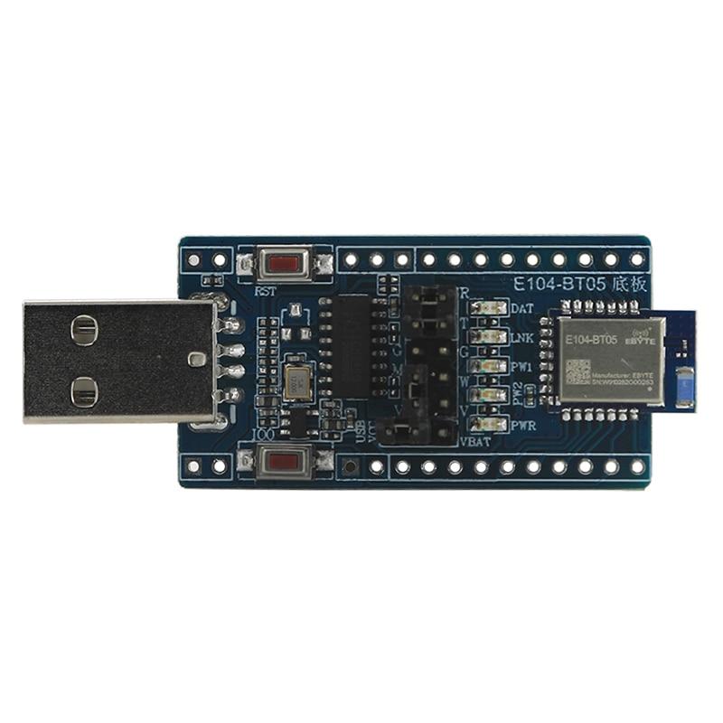 TLSR8266 módulo inalámbrico Bluetooth prueba Junta E104-BT05-TB 2,4 Ghz 8dBm ebyte SMD IO puerto de datos en serie, antena PCB