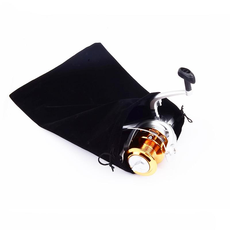 Fishing Reel Bag With Drawstring Reel Protector Bag Fishing Tackle Fishing Gear Accessories Wheel Ba