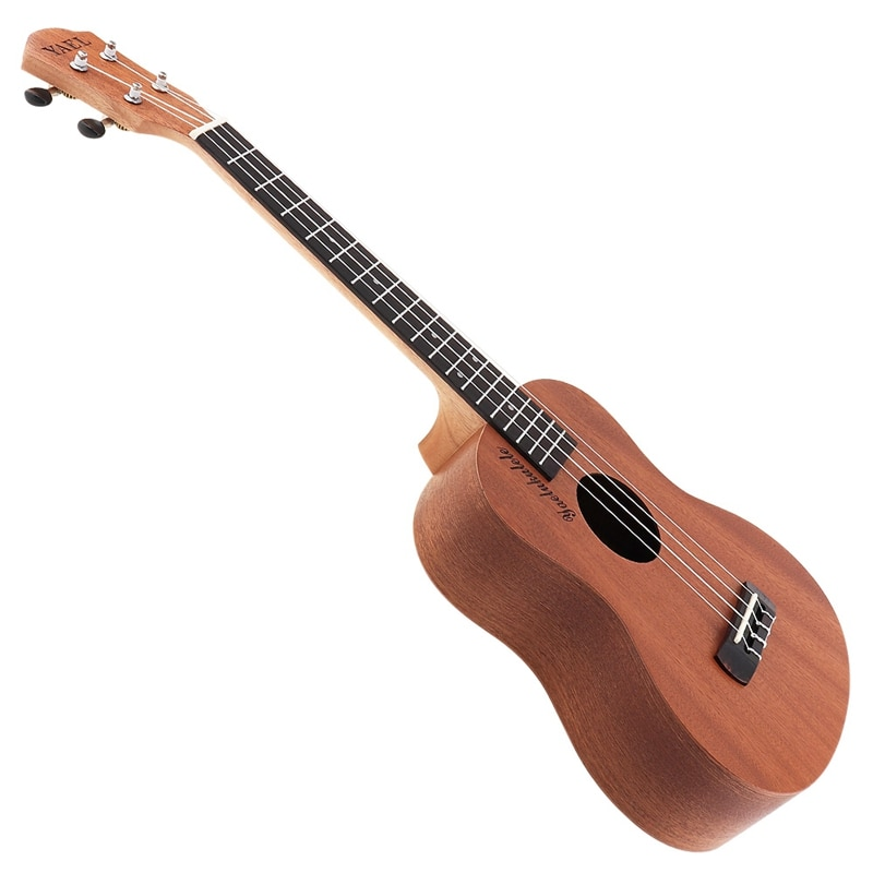 free shipping 38 inch parlor guitar solid wood acoustic guitar flame maple parlor body guitar aaa quality acoustic guitar 26 Inch Ukulele Acoustic Guitar Sapele Wood Ukulele Hawaii 4 String Guitar