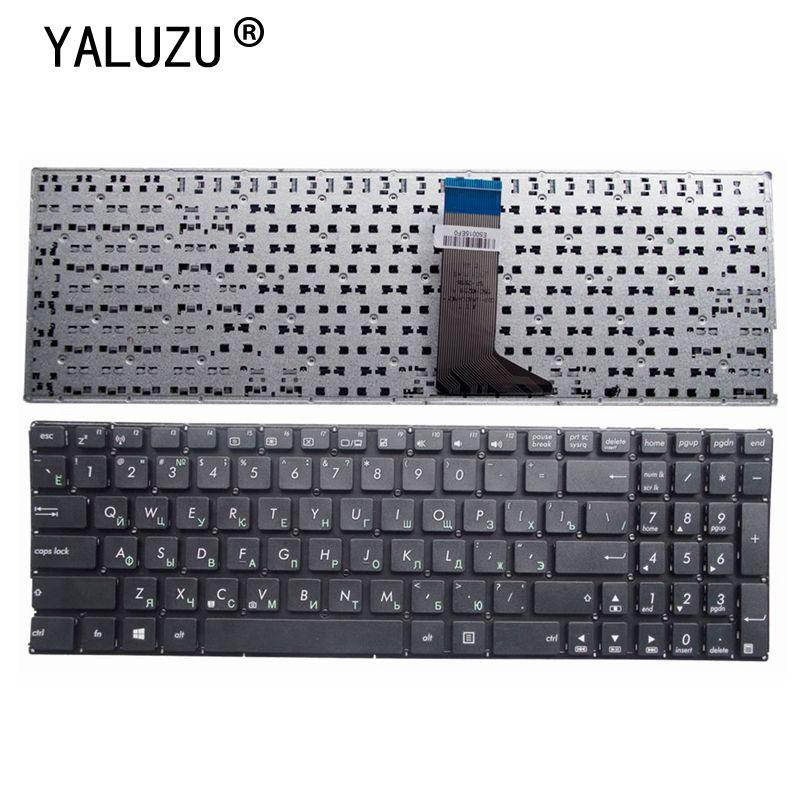 YALUZU Russian laptop Keyboard for ASUS X555 X555B X555D X555L X555LA X555LJ X555LB X555U X555Y