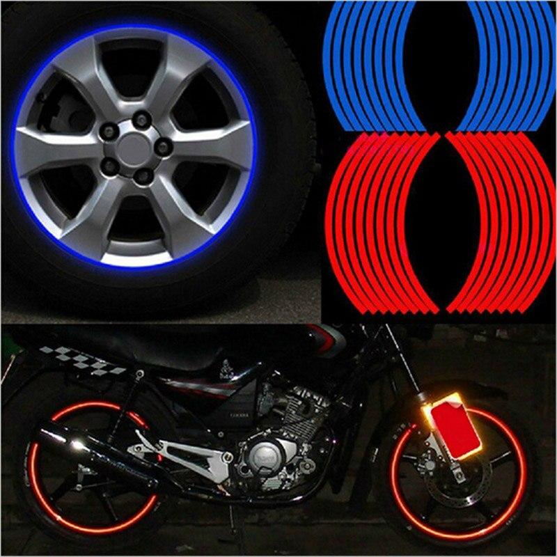 Car Strips Wheel Stickers And Decals for bmw e60 suzuki swift dodge caliber subaru outback mk7 opel zafira b CX-3 cx-5