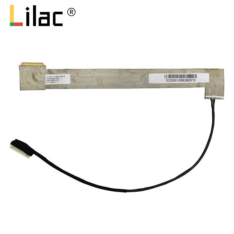 Pantalla de vídeo flexible para Lenovo Y550 Y550A Y550P Y550G 20017 portátil LCD LED LVDS cable de cinta de pantalla DC020001J10 DC020001J00
