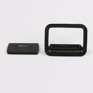 for toyota rav4 rav 4 xa50 2019 2020 Glove box door handle cover bowl interior accessories parts plastic carbon fiber
