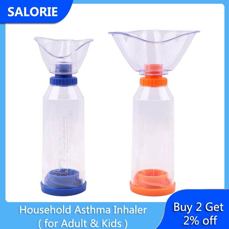 Бытовой ингалятор для лечения астмы переносной распылитель контейнеры для носовых ингаляторов всасывания Spacer для детей и взрослых Здоровье детей по уходу терапия        АлиЭкспресс