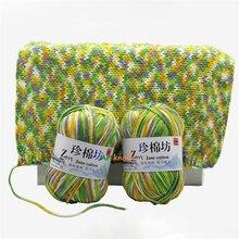 10 hilos de punto de ganchillo orgánico para tejer lanas para tejer a crochet alpaca 4 capas