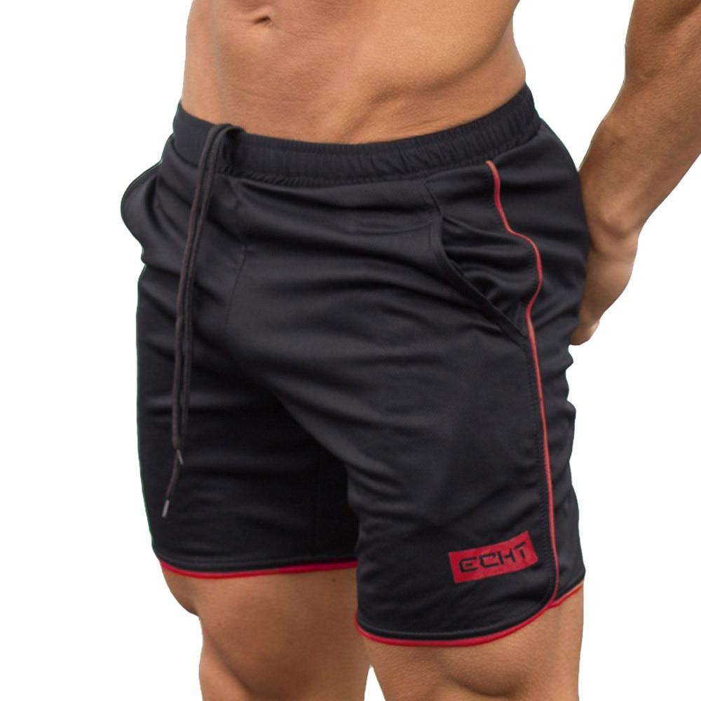 Men's Sports masculino Training Bodybuilding Summer Shorts Workout Fitness GYM Short bermuda masculino #YL5