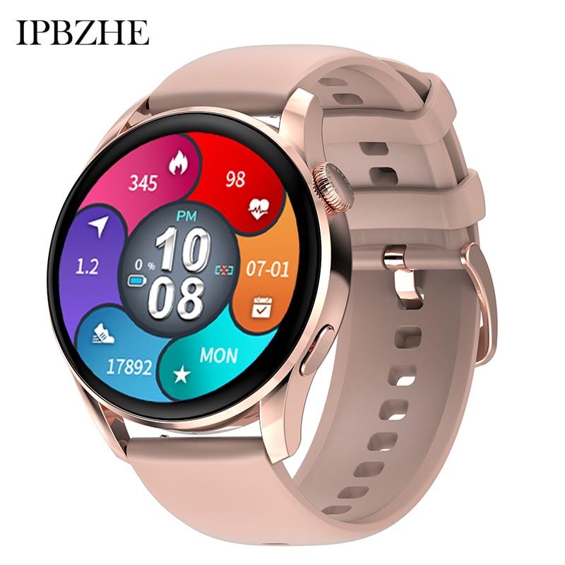 Ipbzhe 2021 Smart Watch Women Android Bluetooth Call Sport Blood Oxygen Smart Watch Men ECG SmartWat
