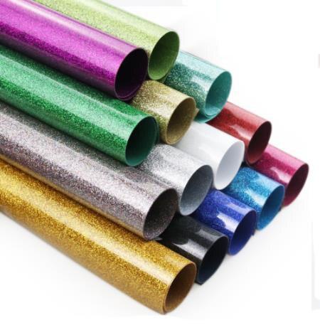 30 см x 100 см Красивая цветная блестящая теплопередающая виниловая пленка термопресс режущий плоттер железо на HTV пленке