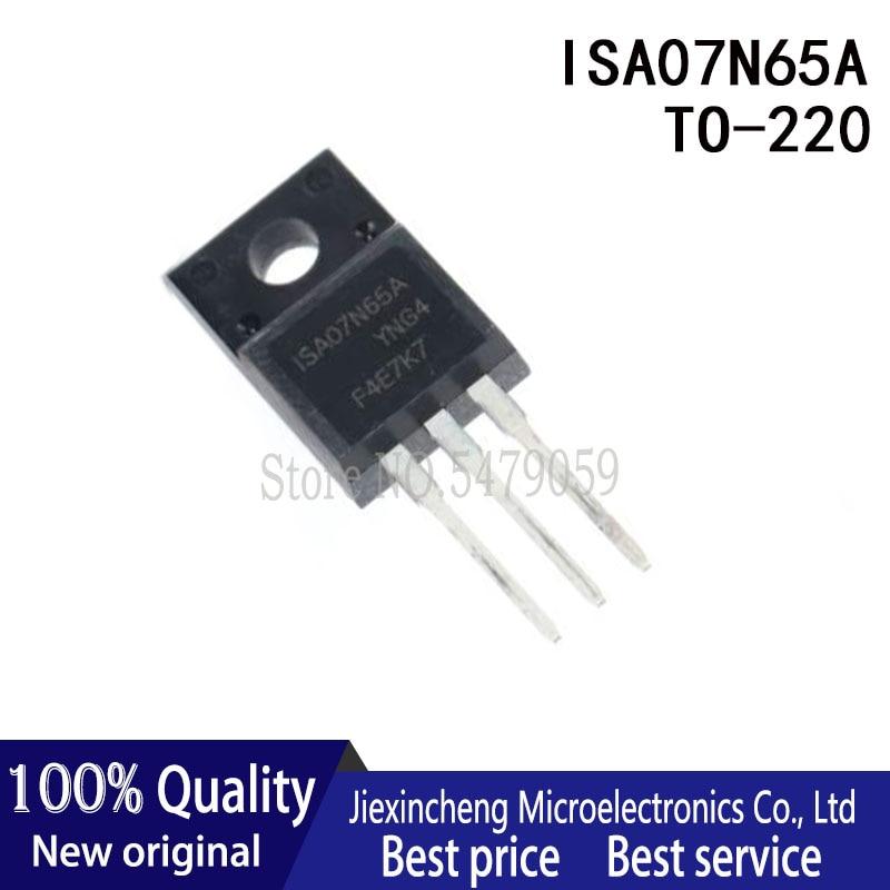 10pcs fqpf12n60c 12n60c 12n60 fqpf12n60 new to 220f 10PCS ISA07N65A ISA05N60A ISA04N65A  TO-220F MOSFET New original