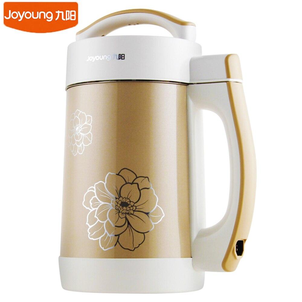 Joyoung прибор для приготовления соевого молока бытовой автоматический многофункциональный двойной шлифовальный станок из нержавеющей стали...