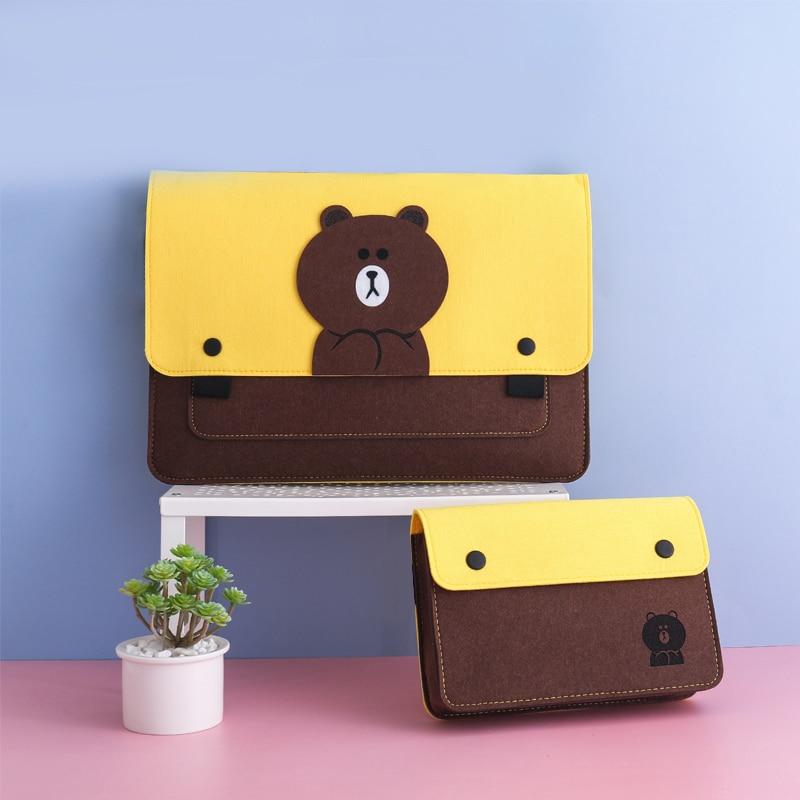 Портативный портфель для ноутбука, сумка для ноутбука, бизнес-документы, банковская карта, чехол для мобильного телефона, сумка для хранени...