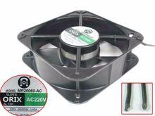 ORIX MR20060-AC AC 220V 50/50Hz 2-Wire 200x200x60mm Server Cooling Fan