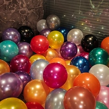 30pcs 10inch 1.5g Pearl Latex Balloons Mix Color Wedding Birthday Party Decorations Kids Christmas B