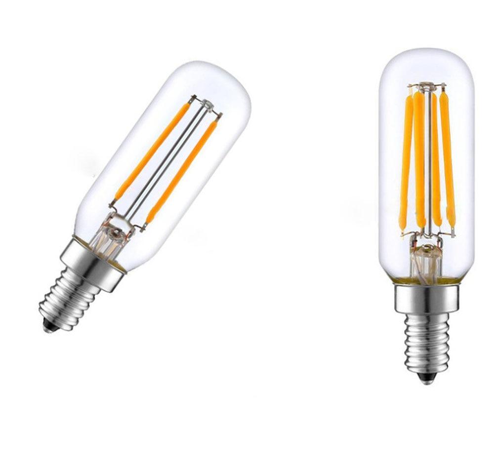 AliExpress - Edison Bulb E14 LED Light T25 4W 8W 12W Cooker Hood Filament Lamp Extractor Fan Bulb Warm White/White Lighting 220V