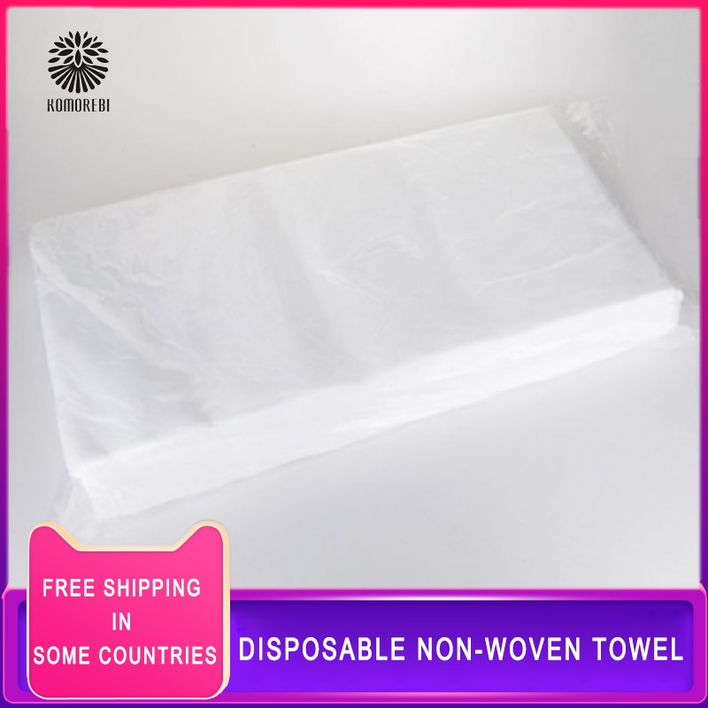 95 Pcs Non-Woven Towel for Outdoor Travel 28 x 58cm Travel Towel Non-Woven SPA Salon Towel, Beauty F