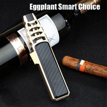 2021  Jobon Kitchen BBQ  Cigar Big  JET Flames  Fire Turbo Torch Fire Grinding Wheel  Lighter Withou