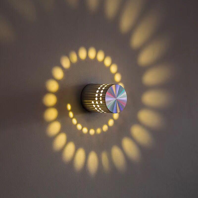 2020 Wandlamp luminaria luz de pared Abajur 4 unids/lote 3w lámparas Led...