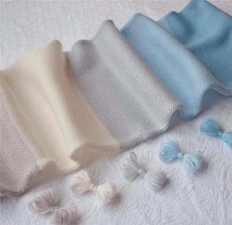 100% wool autumn and winter dyed yarn 2 yarns DIY hand knitted baby sweater hat scarf wool yarn anti-pilling fabric