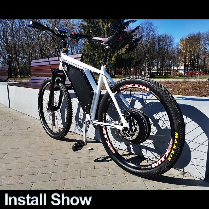 EBike Conversion Kit 1500W Wheel Hub Motor 20 26 27.5 700C 28 29 inch Electric Bicycle Waterproof Rear Wheel