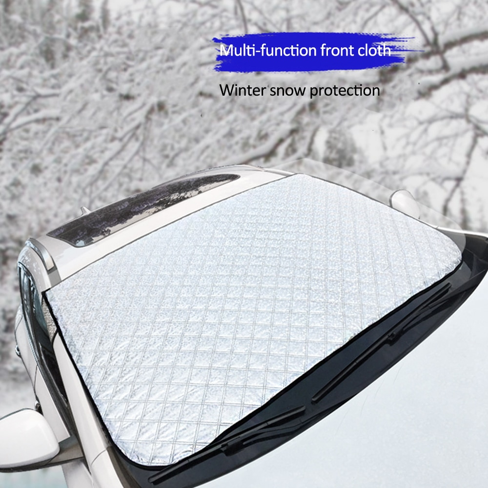 Universal Car Covers Sunshade Cover Prevent Snow Ice Car Windshield Covers Summer Auto Protector Front Window Windscreen Covers