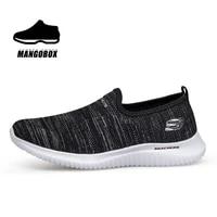 2021 new shoes men athletic black athletic sneakers for men summer slip on man sock running shoes soft sole jogging sneakers men