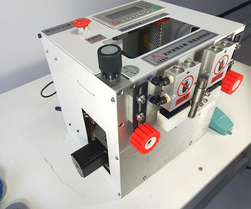 آلة ثقب أجزاء غير مرئية أوتوماتيكية ، جهاز ثقب جانبي هوائي يدوي ستة في واحد