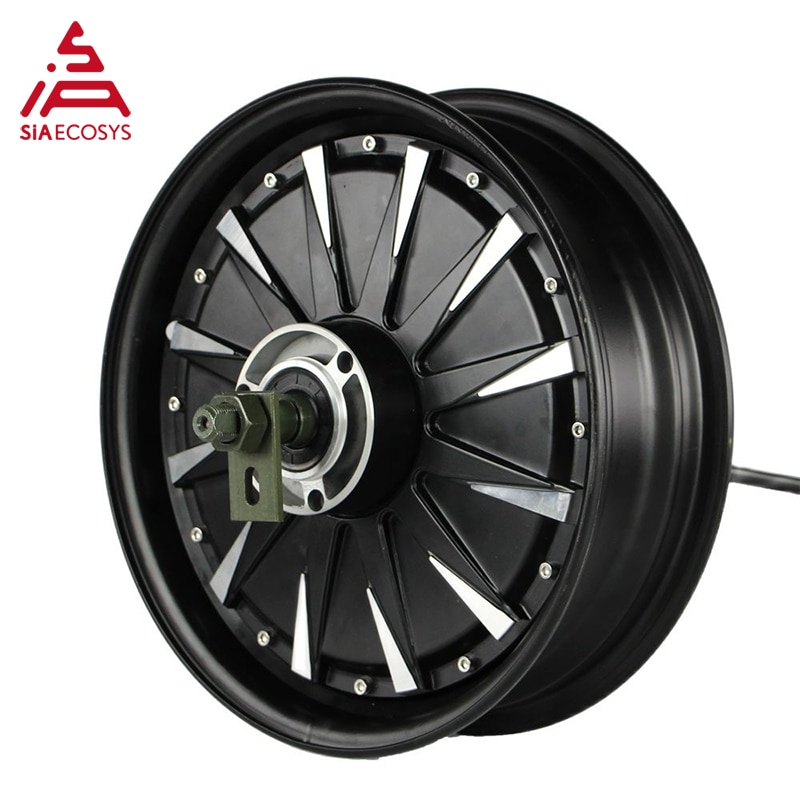 QSMOTOR 12inch 3000W 72V 70kph Hub Motor with EM72100SP controller and kits for electric Scooter enlarge