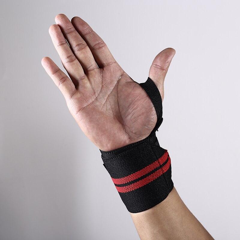 Chao ba 1 pçs pulseira suporte de pulso levantamento de peso ginásio treinamento suporte de pulso cinta correias envoltórios crossfit powerlifting