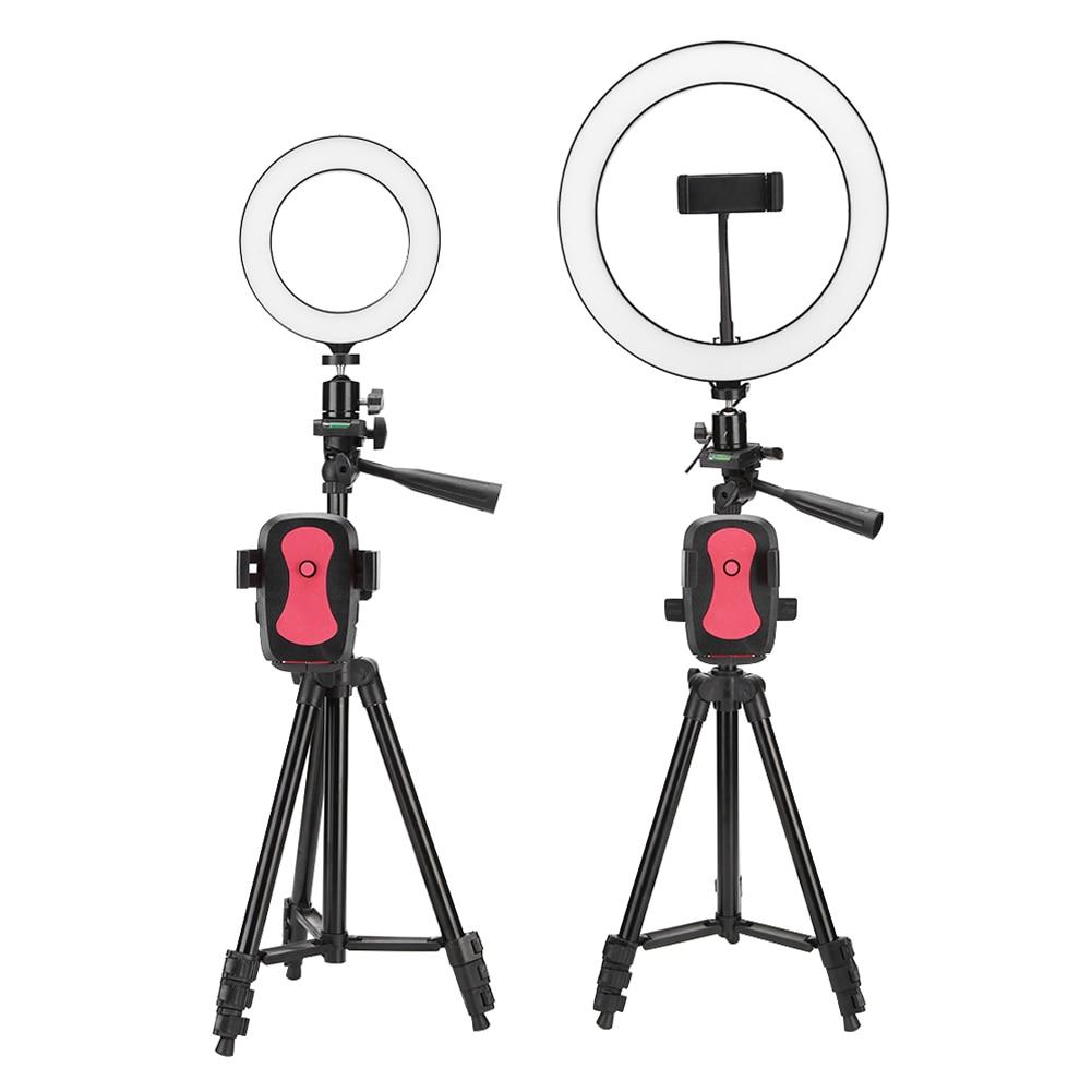 Nowy LED Selfie pierścień światła wypełniającego do makijażu Studio Live zdjęcie wideo telefon aparat dla tej lampy zdjęcie fotografia studyjna Selfie/światło wypełniające
