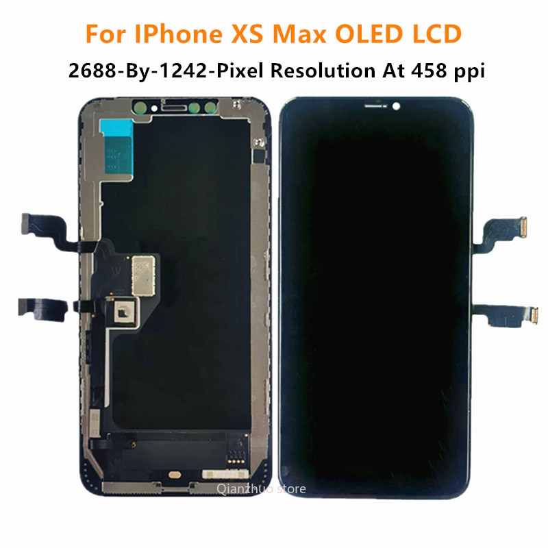 100% Tested OLED LCD For iPhone X XR XS Max Display Wholesale Price Display For iPhone 11 X Xs Screen 100% Test Good 3D Touch enlarge