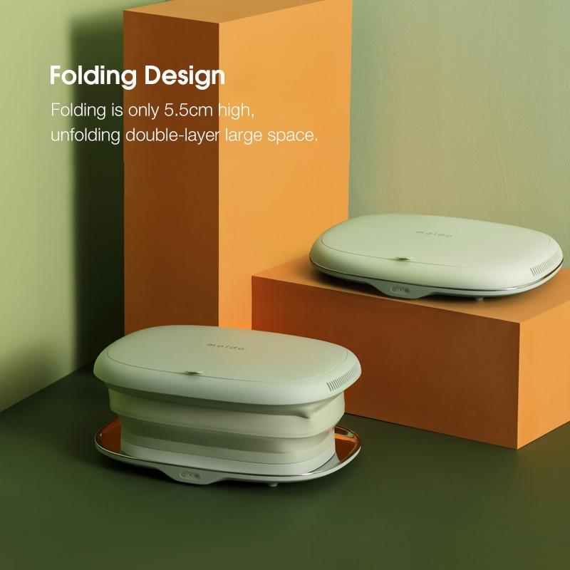Travel Folding Clothes Drying Machine Storage Box Household Small Portable Underwear Sterilization Machine 100W UV Disinfection enlarge