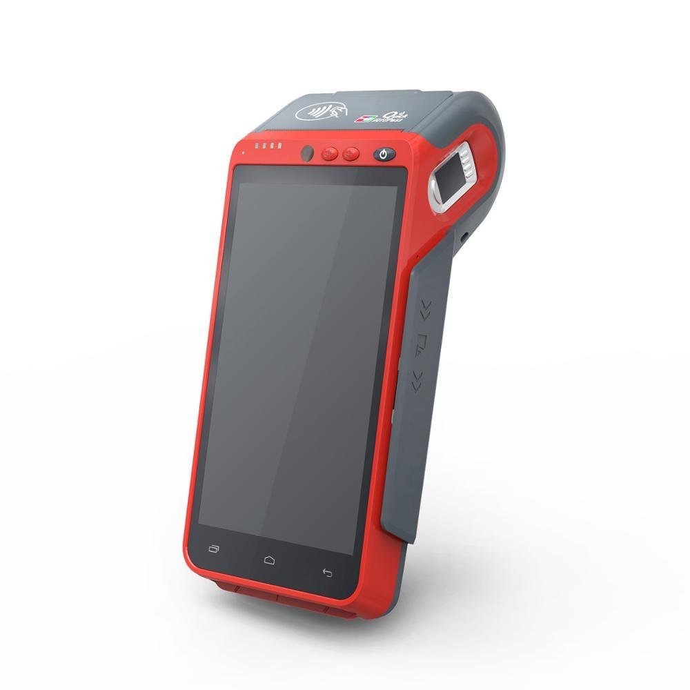 Máquina POS inteligente portátil con interfaz Bluetooth Wifi de red 4G Z100 sin PCI EMV