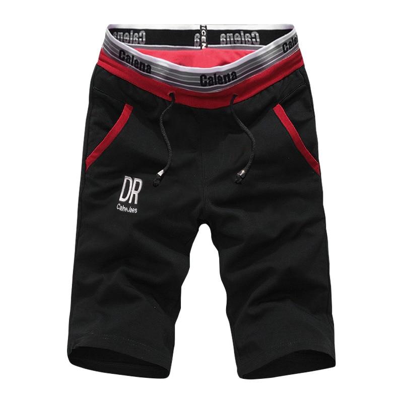 Мужские шорты-бермуды на завязках, повседневные модные шорты с принтом, Классические дышащие спортивные шорты, лето 2021