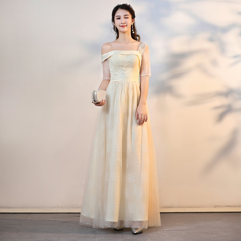 J014 vestidos de dama de honor abendkleider jurken fiesta boda largos elegantes de gala Guest demoiselle femme kleider