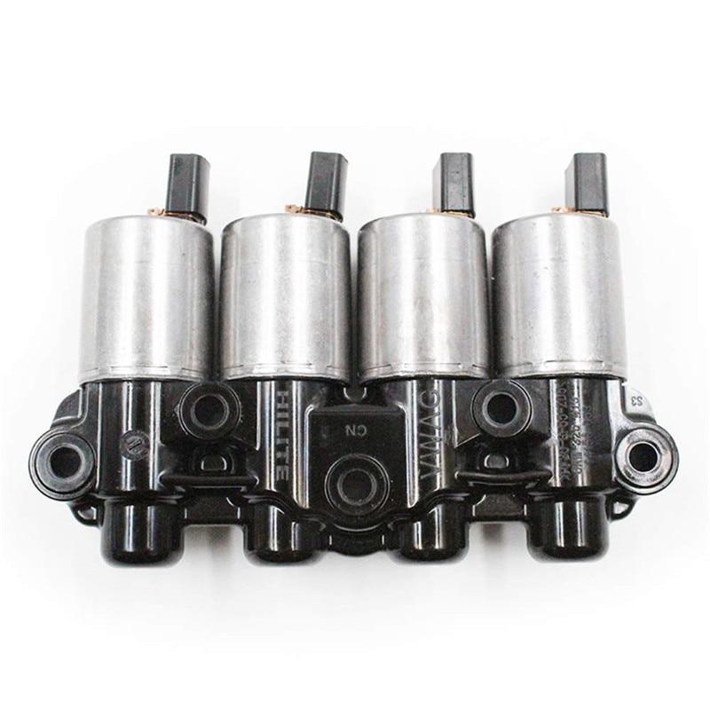 0AM DQ200 DSG 7 скоростей Электромагнит Коробки Передач Пакет для Volkswagen Audi Skoda Сиденье Модифицированная коробка передач электромагнитный клапан