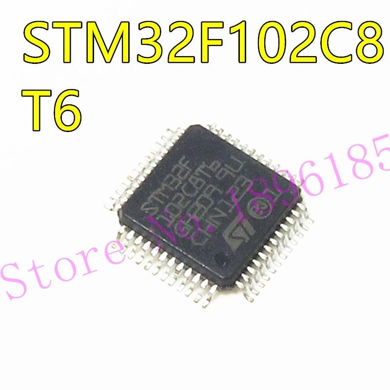 STM32F102C8T6 STM32F102CBT6 STM32F102CBT6TR STM32F102C8T6TR