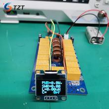 TZT, sintonizador de antena automático de 1,8-50MHz, Kit de 100W/0,96 pulgadas, ATU100 con pantalla OLED