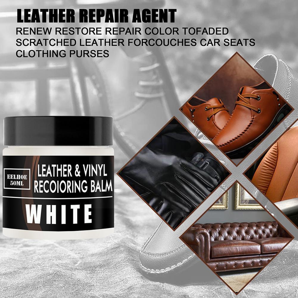 Car Care Liquid Leather Repair Kit Auto Complementary Cracks Scratch Polish Car Hole Sofa Paste Care Paint Color Coat Y8w5