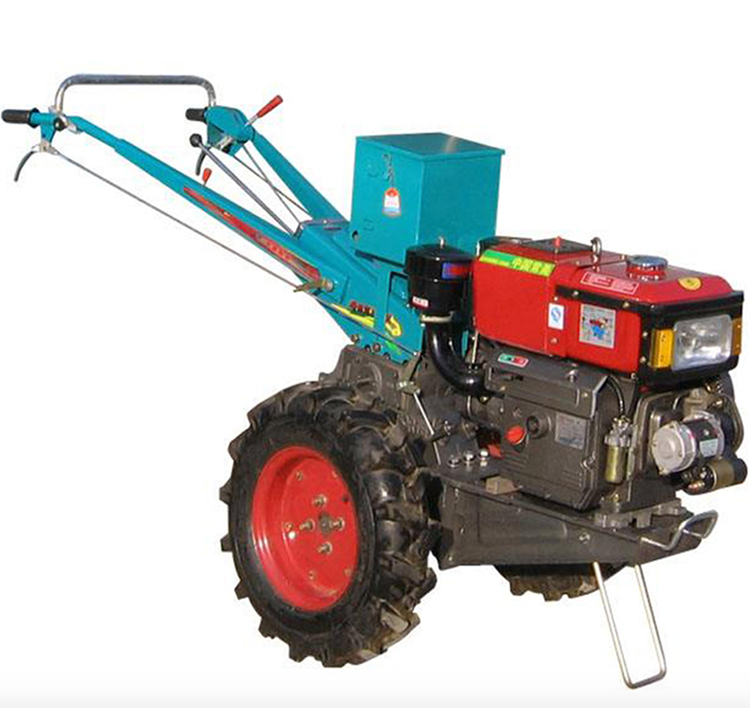 Domestic walking tractor 8 horsepower small walking tractor two wheel tractor diesel self-propelled tractor enlarge