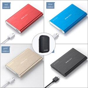 ACASIS 2.5'' External Hard Drive USB 3.0 Colorful Metal HDD Portable 80GB-1TB USB flash drive
