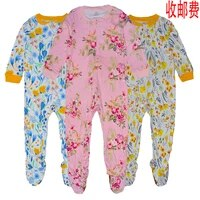 2 9 years old childrens jumpsuit boys and girls pure cotton pajamas%e3%80%81no free shipping