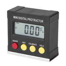 Horizontale Winkel Meter Digitale Winkelmesser Neigungs Elektronische Ebene Box Magnetische Basis Mess Werkzeuge