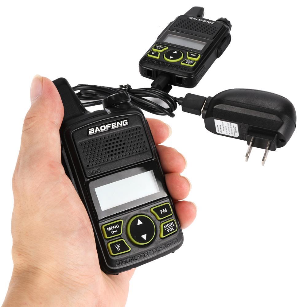 1 шт. Оригинальный Baofeng BF-T1 мини иди и болтай Walkie Talkie радио Портативный двухстороннее радио УВЧ 400-470 МГц FM трансивер Walkie Talkie двухстороннее рад...