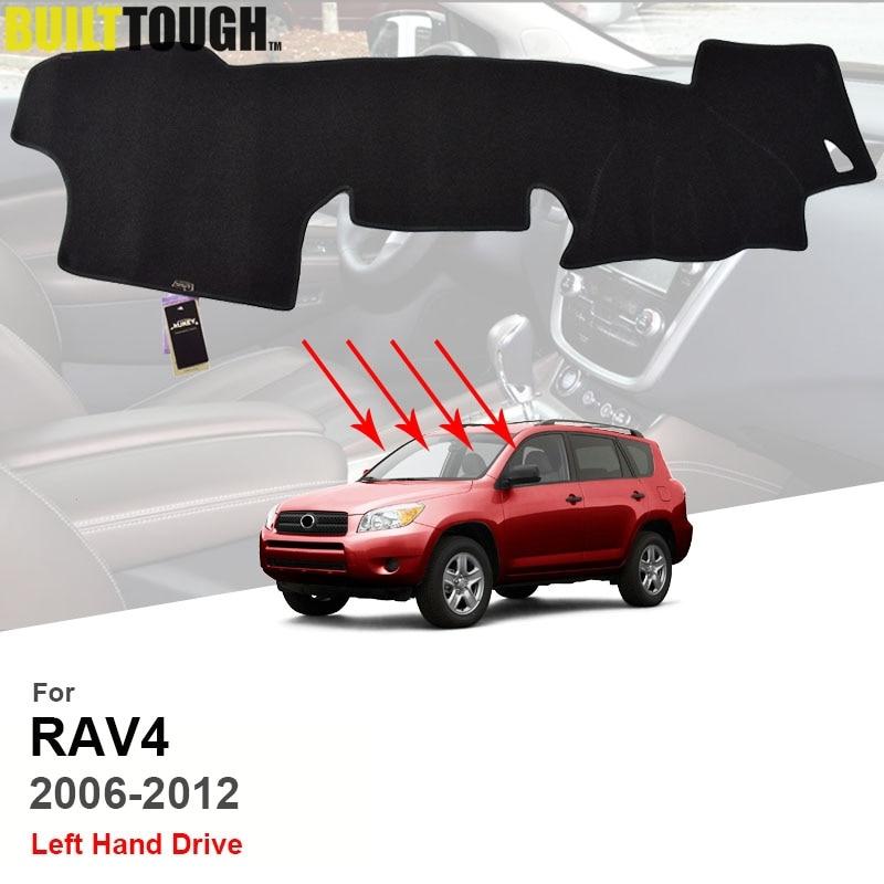 Ajuste para Toyota RAV4 vanguardia XA30 2006, 2007, 2008-2012 salpicadero Dash Mat almohadilla de la cubierta del tablero de sombra de sol tablero, alfombra